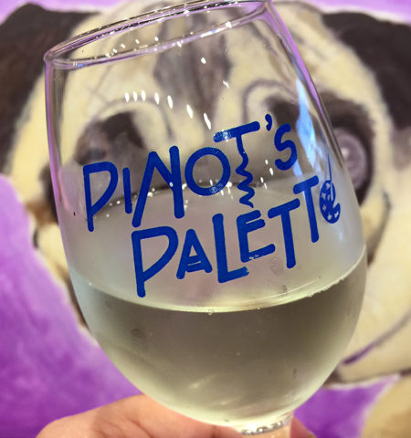 Project Pet at Pinot's Palette Alameda
